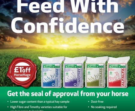 £1 off HorseHage Promotion