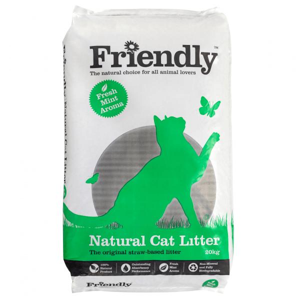 Friendly Natural Cat Litter